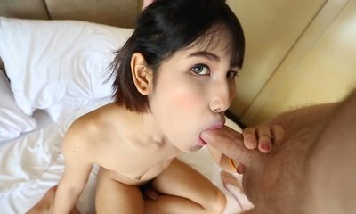 facials, small cock, small tits, thai, with tourists,